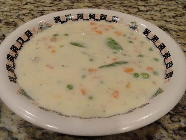 Creamy Chicken Vegetable Soup Recipe