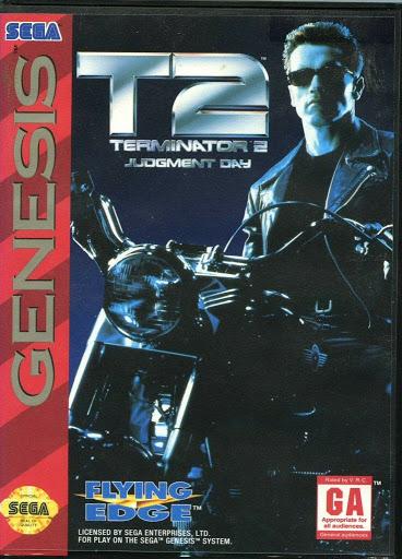 Video game:Sega Genesis T2 - Terminator 2: Judgement Day — Google