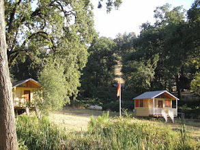 Photo: Yoga Farm, Grass Valley, CA - cabins