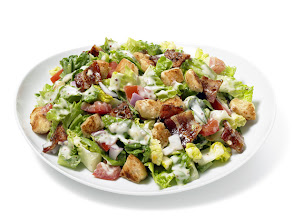 Photo: BLT Sandwich Salad: Turn the classic sandwich into a plated salad. Get this recipe >> http://ow.ly/aIolw