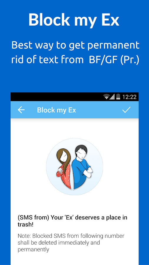SMS Blocker. Clean Inbox- screenshot