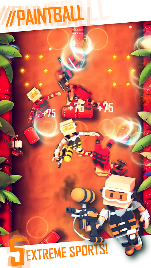Flick Champions Extreme Sports- screenshot