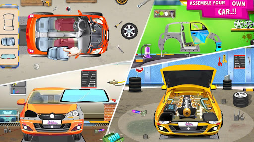 Modern Car Mechanic Offline Games 2019: Car Games apkpoly screenshots 3