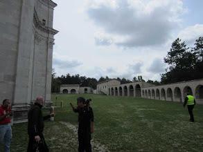 Photo: 11 giugno sabato - terza sosta GrisoGiro - monastero
