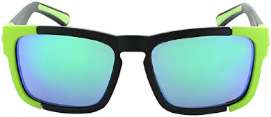 Optic Nerve Vettron Sunglasses: Matte Black/Aluminum Green with Smoke Green Mirror Lens and additional Copper Le alternate image 0