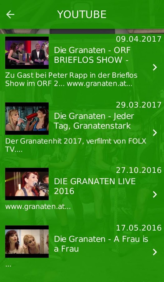 Die Granaten- screenshot