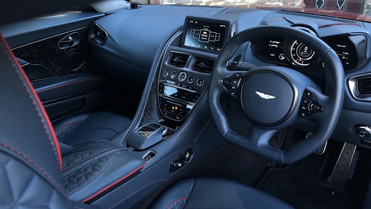 The interior features some superb design elements together with high levels of GT car comfort. Picture: MARK SMYTH