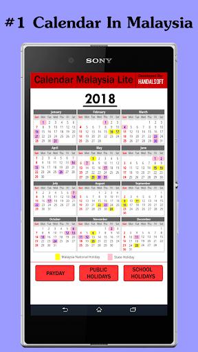 Calendar Malaysia Lite 1.0.13 screenshots 1