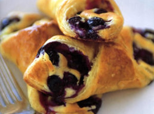Merry Little Huckleberry Turnovers Recipe