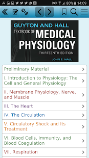 Guyton Medical Physiology, 13 Screenshot