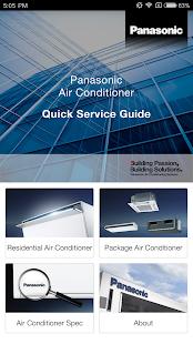 Panasonic AC Service Guide - náhled