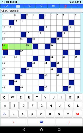 Best Italian Crossword Puzzles - Advanced Level 8.7 screenshots 16