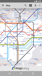 Tube Map London Underground Screenshot 7