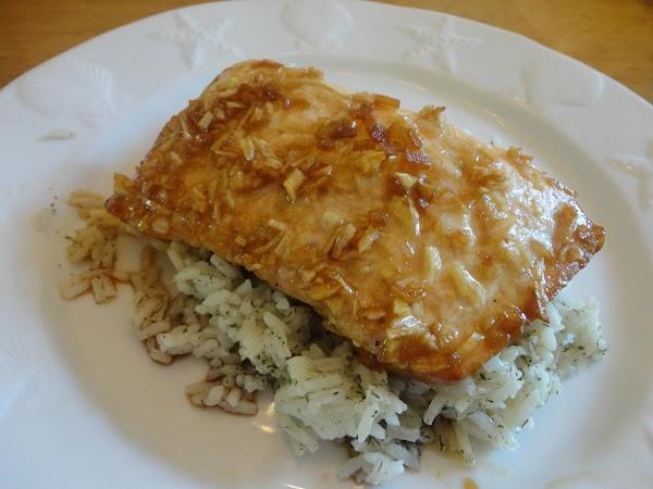 Asian Salmon With Rice Recipe