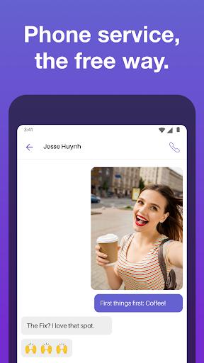 Text Free: Free Text Plus Call 8.57 screenshots 1