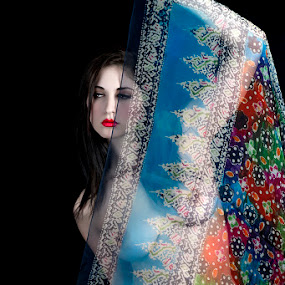 behind the colors... by Nelly Putnam - Nudes & Boudoir Artistic Nude