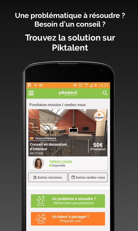 Piktalent- screenshot