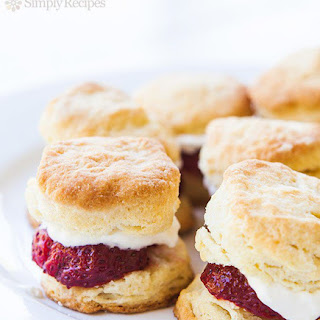 Strawberry Shortcake Sliders.