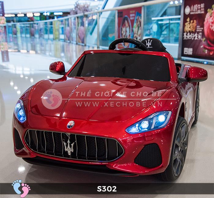 Ô tô cho trẻ em cao cấp Maserati S-302 3