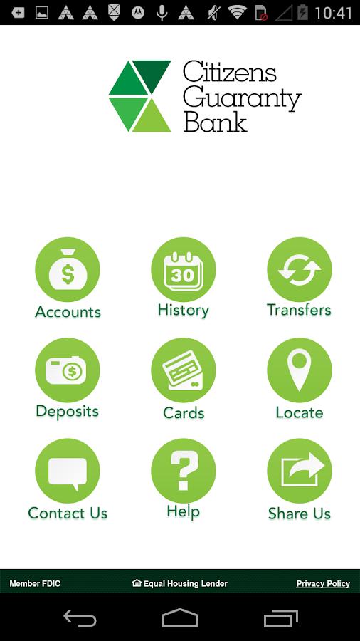 MyCGB - screenshot
