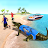 US Police Crocodile Simulator 2019: Beach Attack🐊 Icône