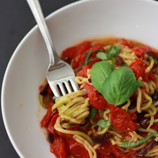 Tomato, Basil, and Olive Sauce