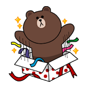 Brown & Cony stickerpack