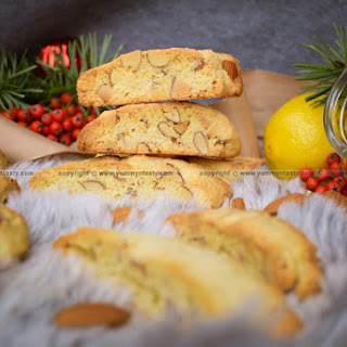 Almonds-Lemon Italian Biscotti Recipe