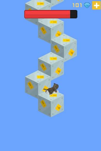 Cat Infinite Stairs
