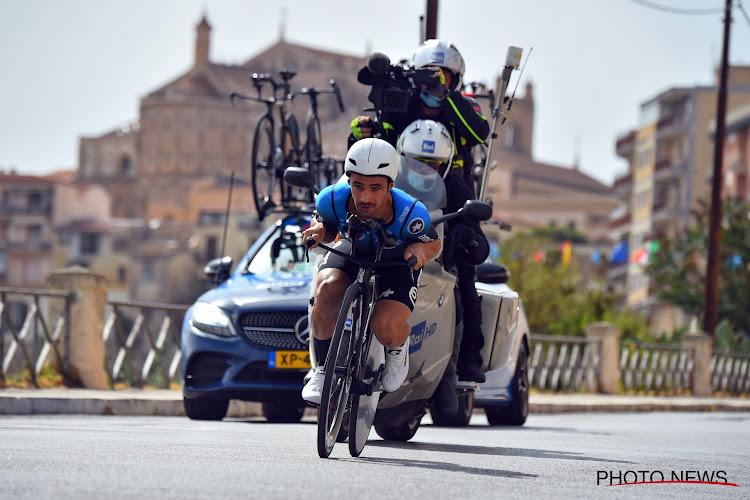"""Victor Campenaerts weet wat hij moet doen om de tijdrit te winnen: """"Ganna verslaan"""""""