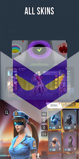 LULUBOX'S  FF & ML Skins & Diamond pro lulubox apk screenshots 1