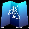 Aqua Map UK & Ireland GPS icon