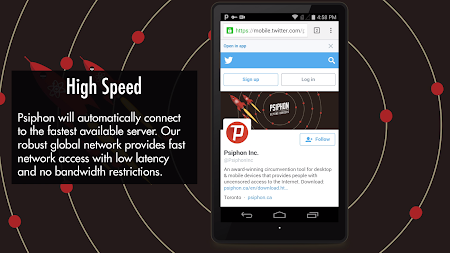 Psiphon APK screenshot thumbnail 4