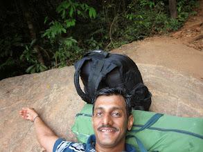 Photo: Selfie at Bheemana Bande (Bheema's rock). Fantastic view