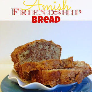 Amish Friendship Bread Without Starter.