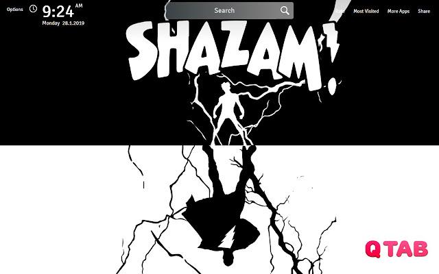 Shazam Wallpapers Shazam New Tab