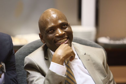 Former SABC COO Hlaudi Motsoeneng, seen during his disciplinary hearing. Picture: Alon Skuy/The Times