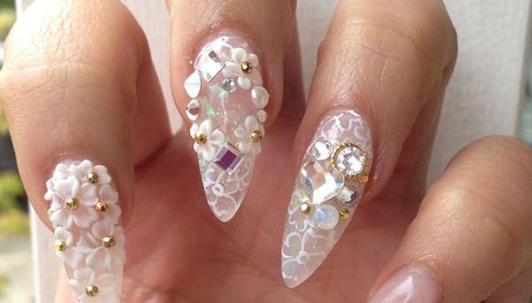 cute nail designs creem (22)