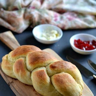 Vegan Challah Bread /Braided Bread