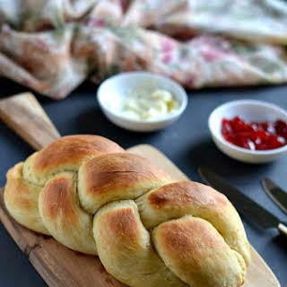 Vegan Challah Bread /Braided Bread.