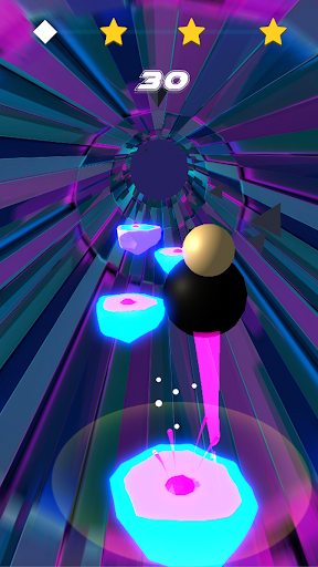 Wobble Man Rhythm Jumper! apktram screenshots 3