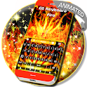 Flames Animated Keyboard Theme icon
