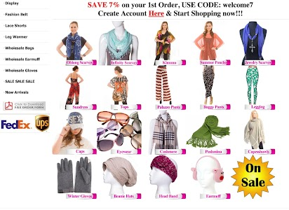Wholesale Scarves For Women screenshot 9