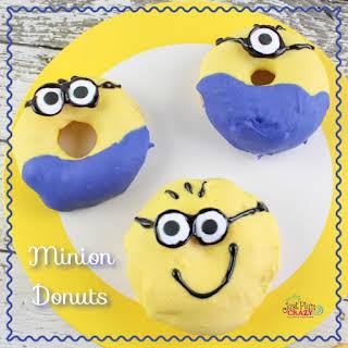 Despicable Me 3 Minion Donuts.