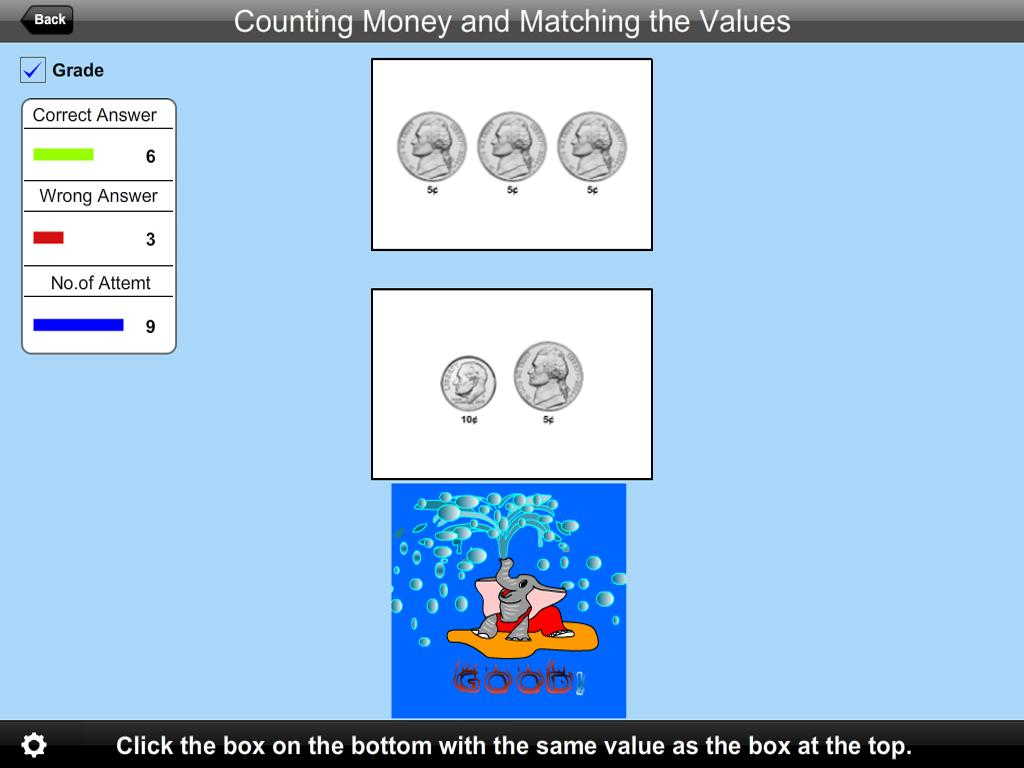 American Counting Matching- screenshot