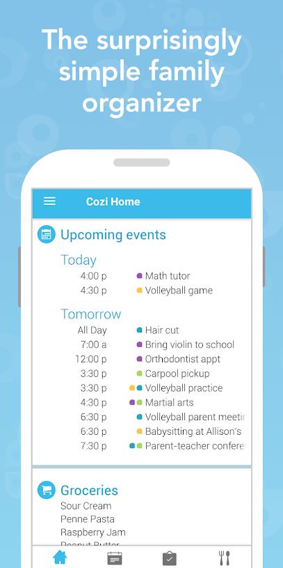 Cozi App | Beanstalk Mums