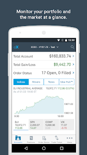 optionsXpress- screenshot thumbnail