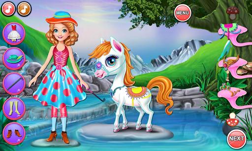 Sandra Pony Fairy Salon 1.0.5 screenshots 7