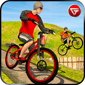 Modern Offroad Uphill Bicycle BMX Simulator 2017
