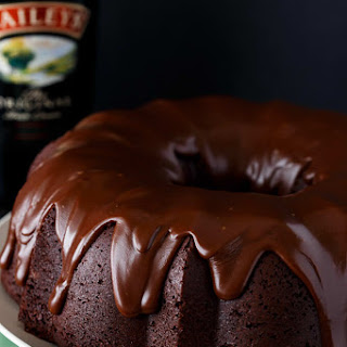 Irish Chocolate Coffee Bundt Cake